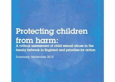 Protecting Children from Harm: …